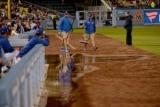 Виставковий матч з бейсболу був перерваний через прорив каналізації