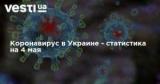 Коронавирус в Украине - статистика на 4 мая